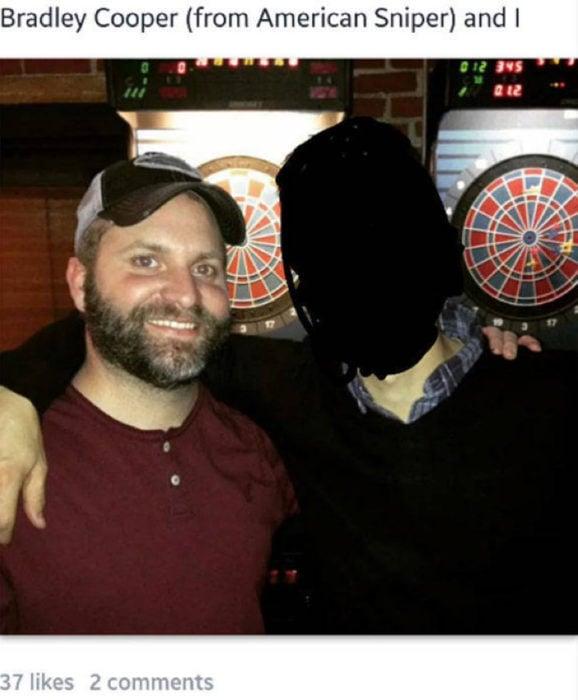 Bradley Cooper en una bar