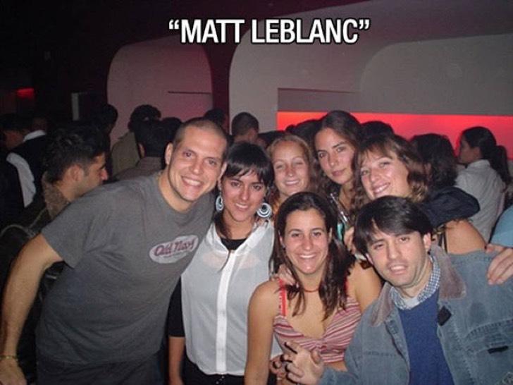 Se toman foto con Matt Leblanc