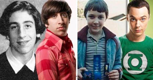 Cover The Big Bang Theory: Cómo lucían los actores cuando eran niños