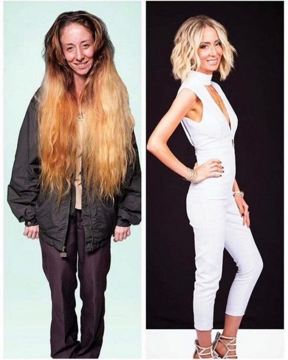 comparativo antes y después cambio de imagen