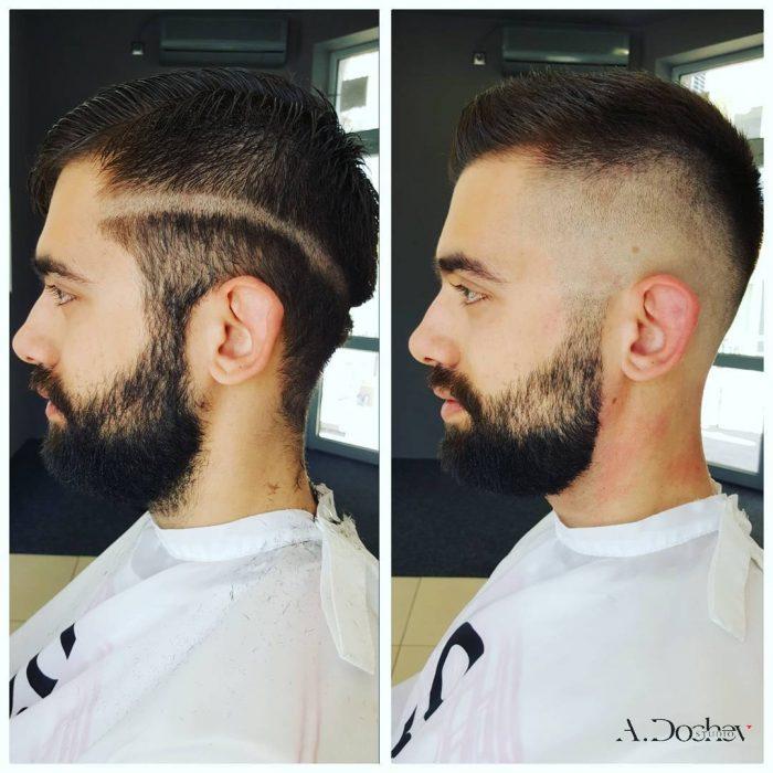corte de cabello chico pelo corto