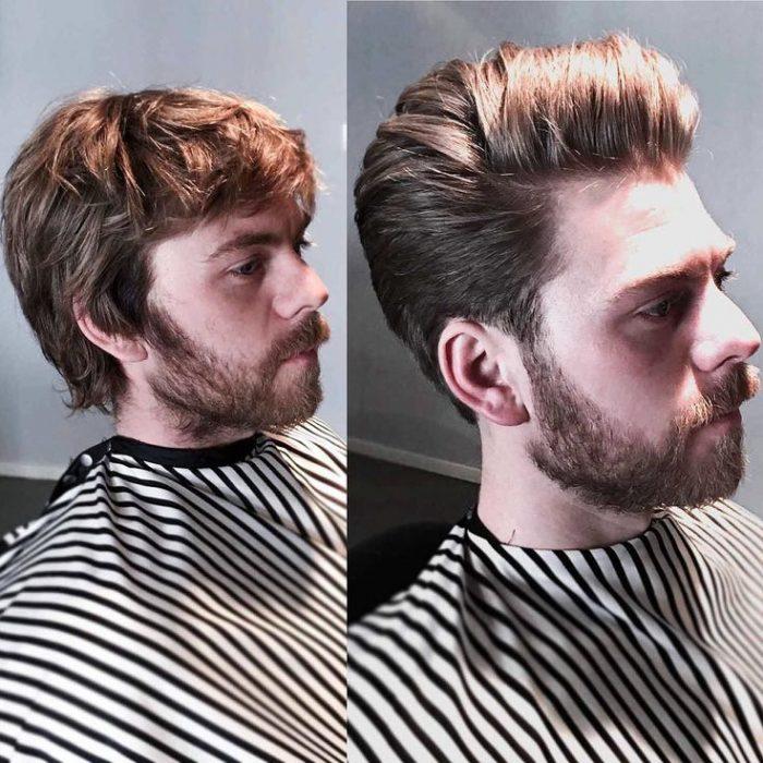 cambio de look hombre