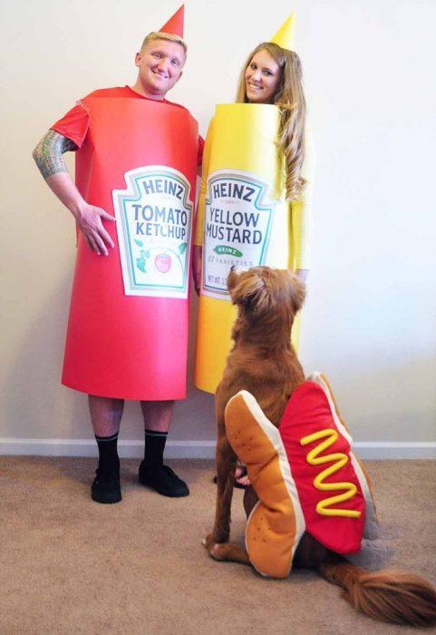 disfraz hot dog