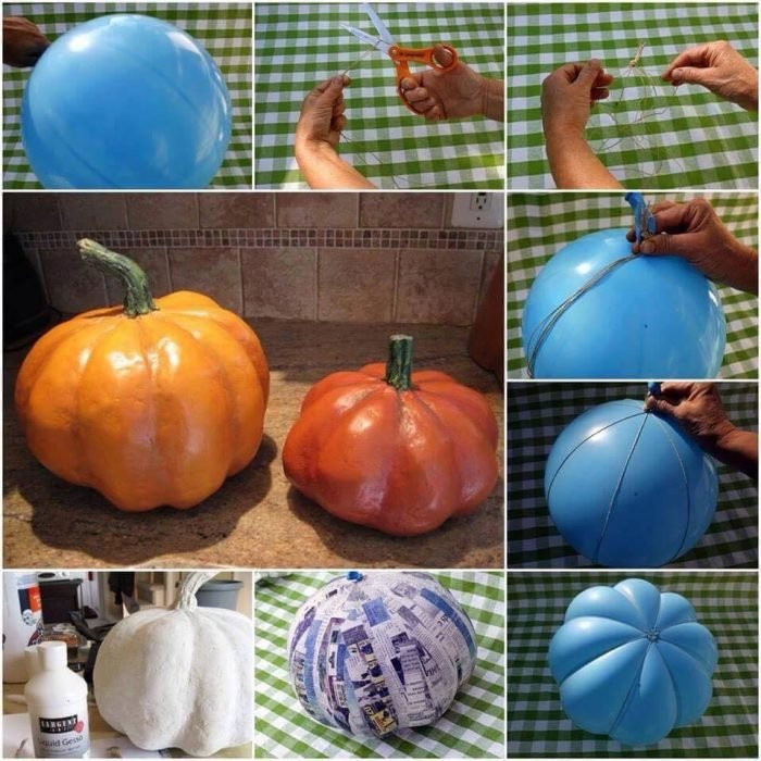 calabaza decorativa Halloween ideas DIY