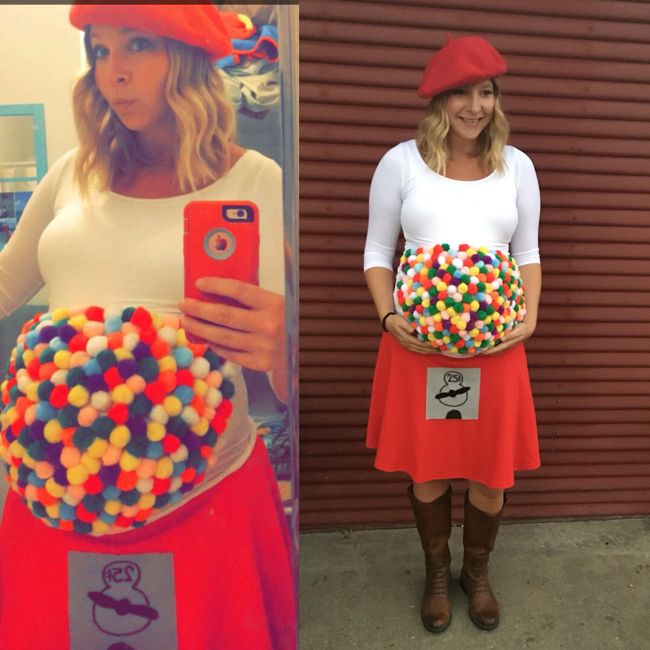 15 Mams con los mejores disfraces para halloween con panza