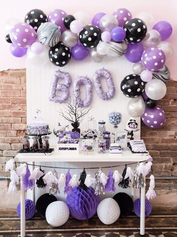 15 ideas sencillas para decorar con globos en halloween - Ideas sencillas para decorar ...