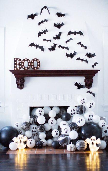 globos boo halloween