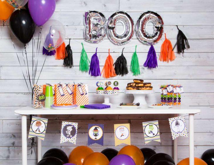 boo globos fiesta