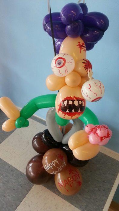 zombie de globos