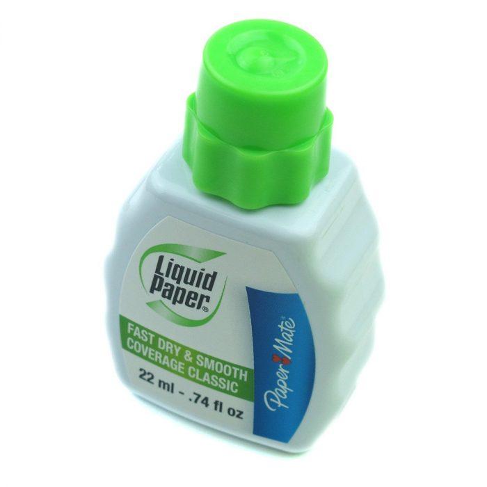 Liquid paper corrector