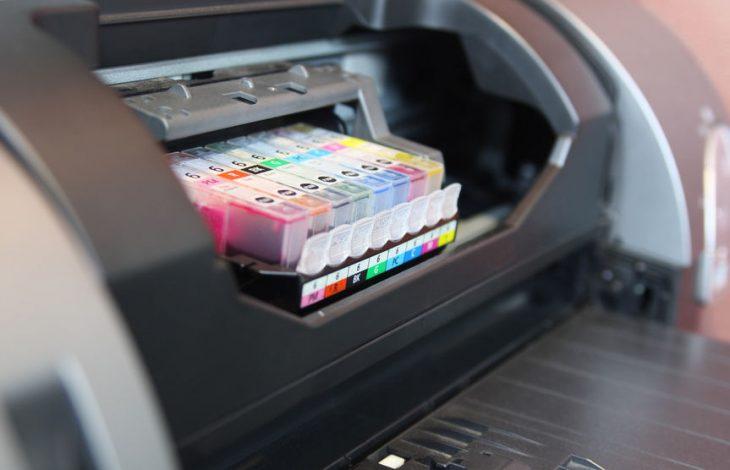 Tinta negra para impresora
