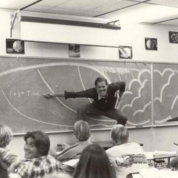 Padres cool profesor de matemáticas