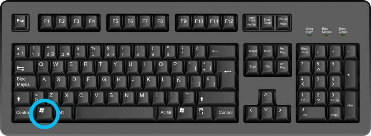 Trucos del teclado con la tecla de windows