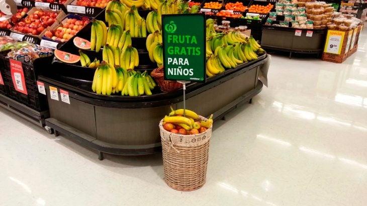fruta para niños gratis