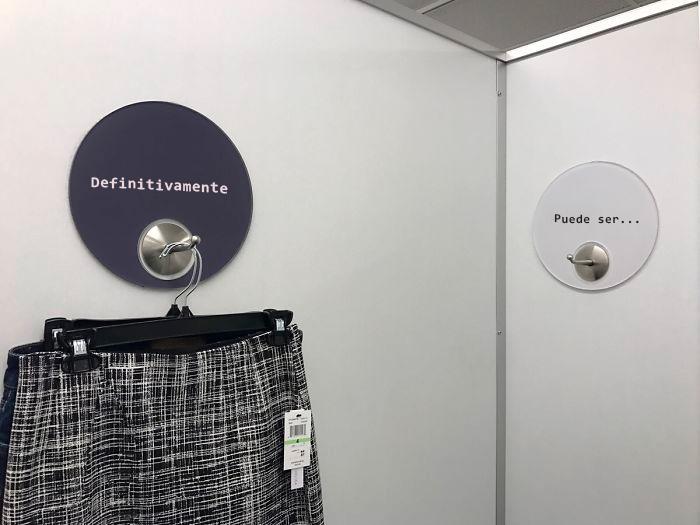 probador de ropa