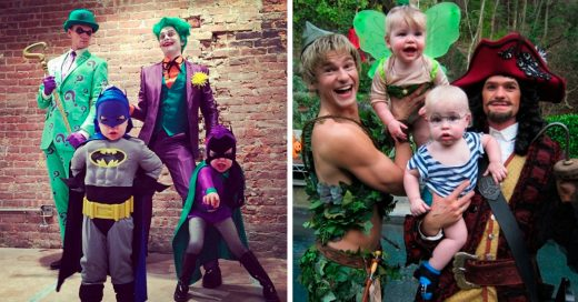 Cover Neil Patrick Harris, su esposo y sus hijos son los REYES de Halloween