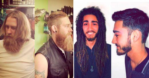 Cover Chicos que se cortaron el cabello y descubrieron que eran guapos
