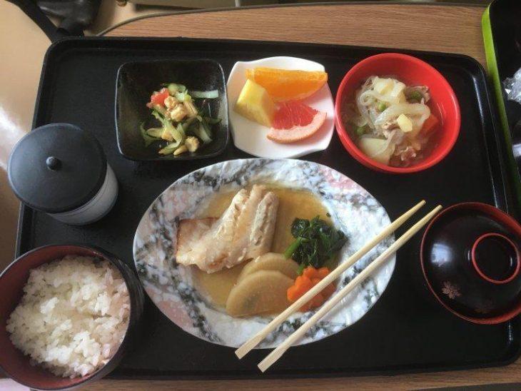 comida de un hospital