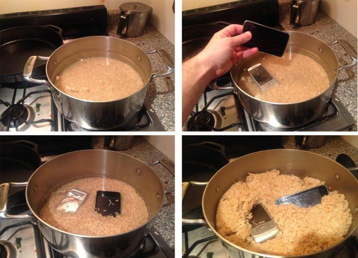 arroz y celulares