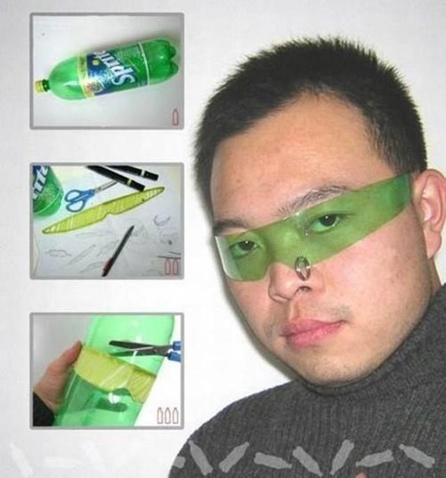 Crear lentes reciclados