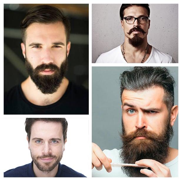 Barba hidratada