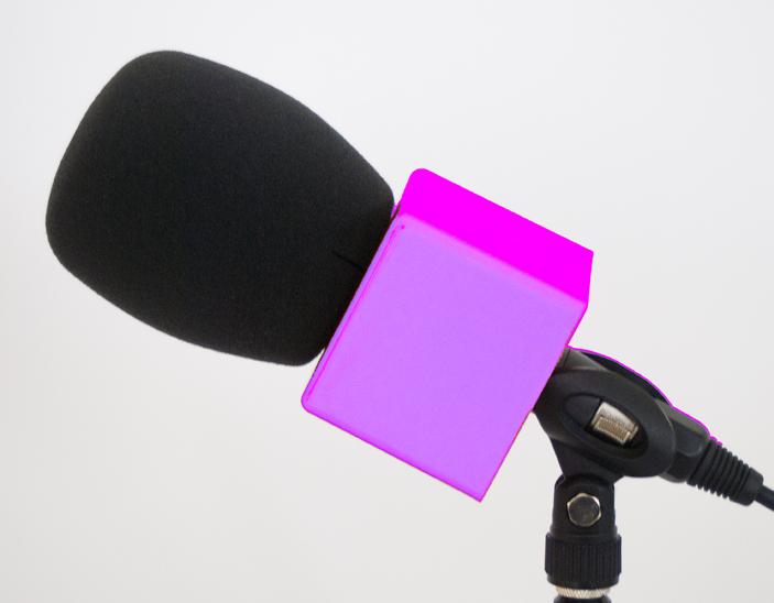 Fundas en los micrófonos