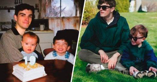 Cover Fotografías Vintage photoshopeadas por el niño a cuadro