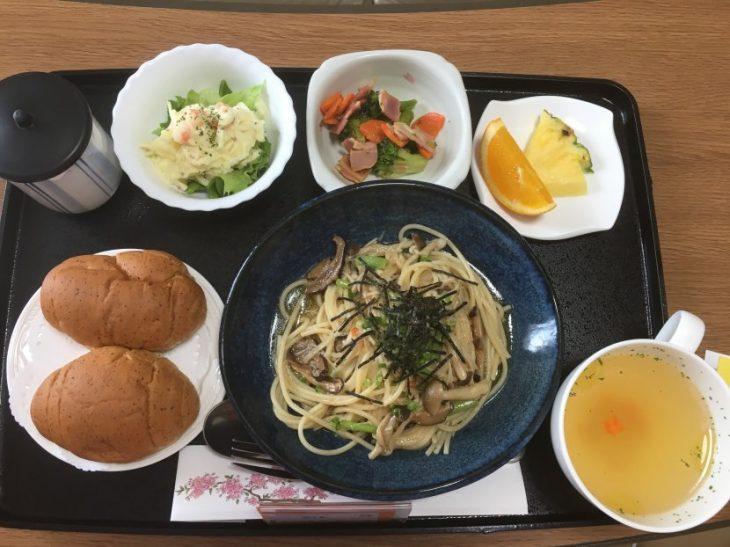 comida que dan en el hospital