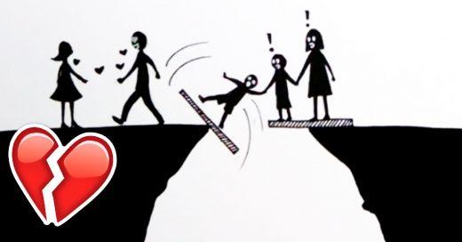 Cover El sufrimiento del divorcio para los hijos en 7 pasos