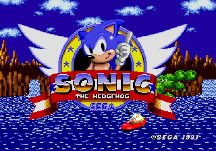 sonic videojuego