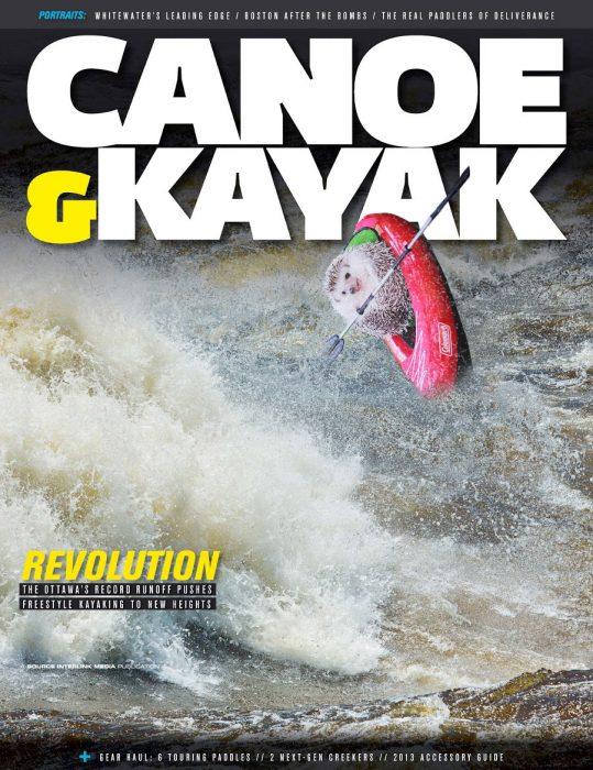 película canoa erizo