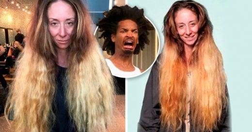 Cover No se cortó el cabello por 30 años, la transforman completamente para su boda