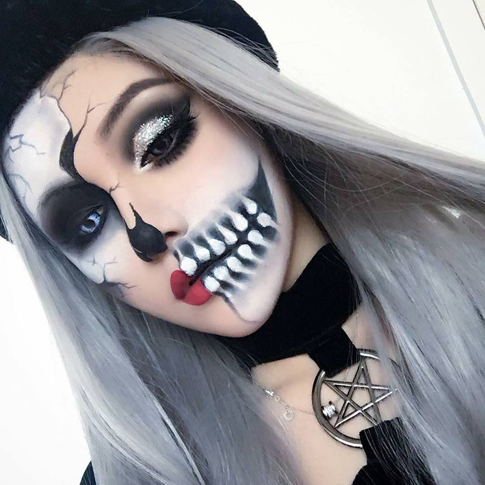 20 Increbles ideas de maquillaje para el prximo Halloween