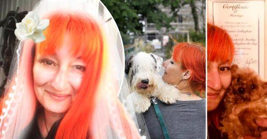 Cover Esta mujer se casó y vivió feliz por siempre junto a su perro