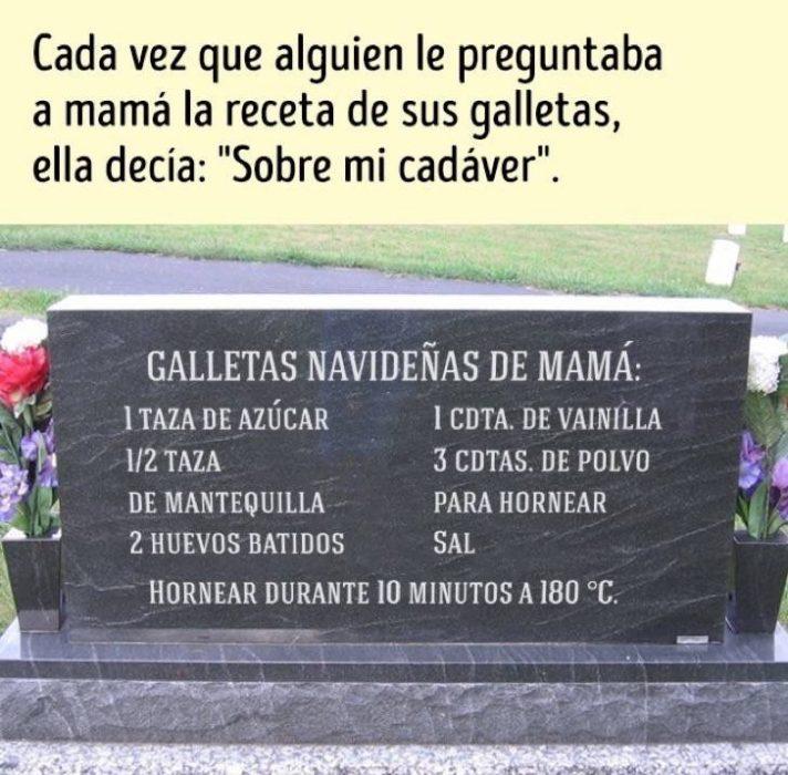 cadáver mamá