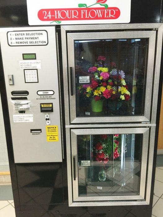 flores máquina