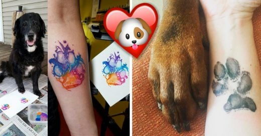 Cover Tatuajes de huellas de perro que te encantarán
