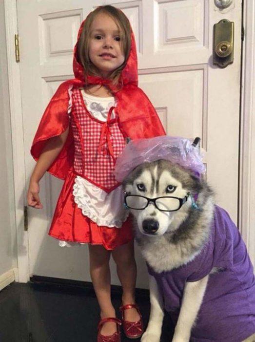 abuelita y caperucita disfraces halloween
