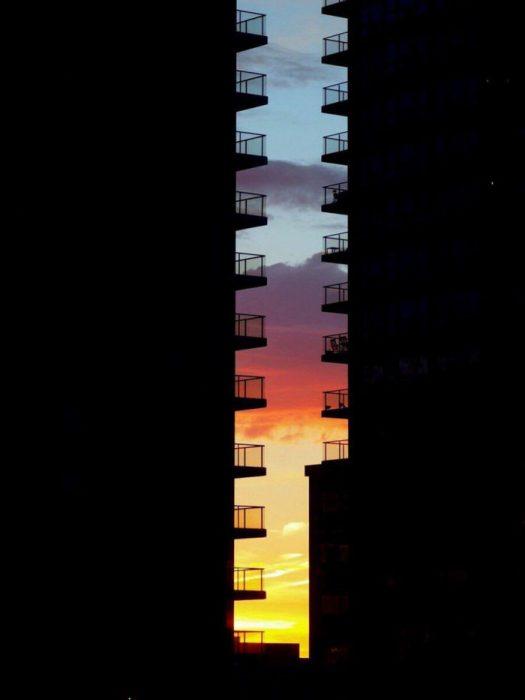 amanecer en sombras