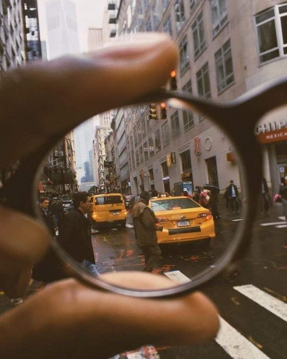lentes limpios