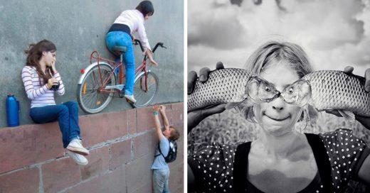 Cover Fantásticas fotografías de perspectiva forzada