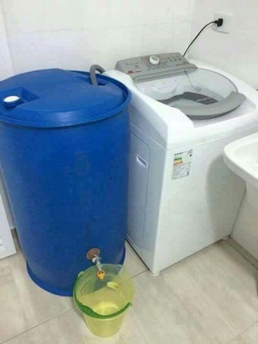 lavadora barril