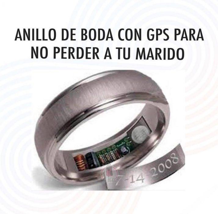 anillo marido