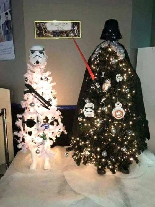 árbol star wars