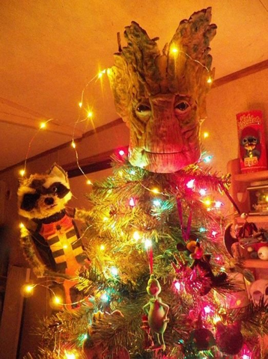 árbol navidad groot