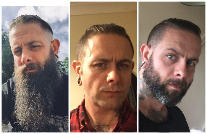 mucha barba nada de barba poca barba