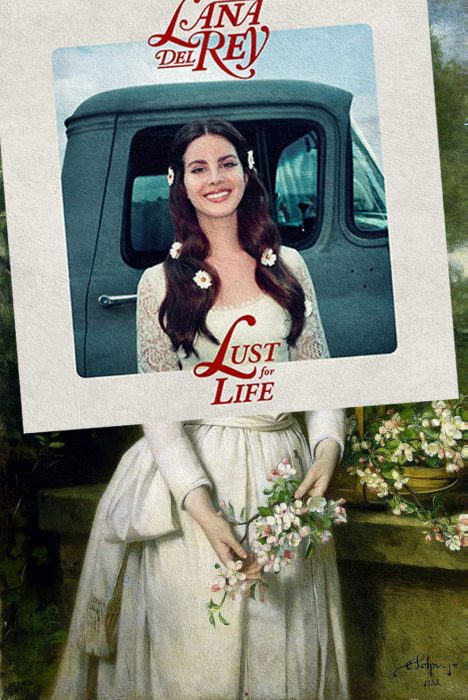 Covers albums pinturas clasicas - lust for life