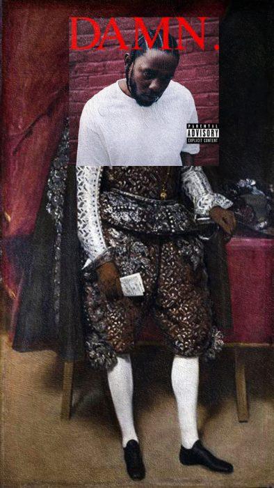 Covers albums pinturas clasicas - damn