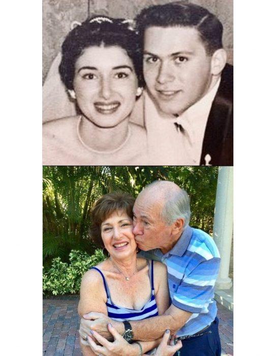 abuelos celebrando 60