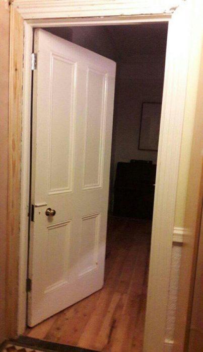 puerta perilla